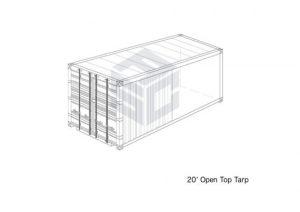 20' Open Top Tarp