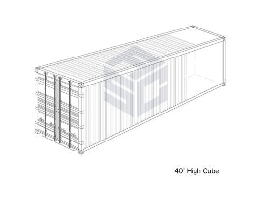 40' High Cube