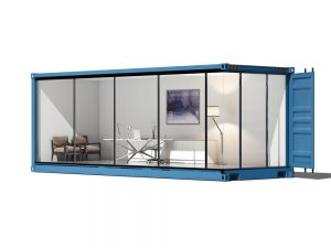 Allstates shipping container office