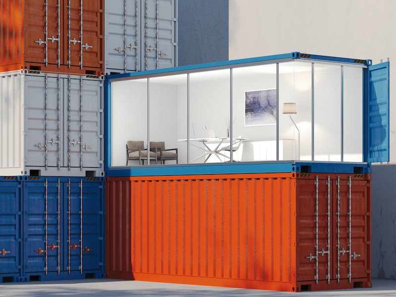 Shipping Containers as Office Buildings?